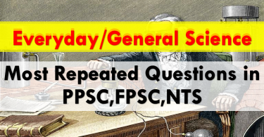 Everyday general science, past papers, exams preparation.www.testdunya.com