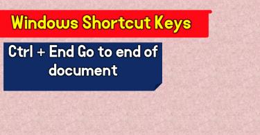 windows shortcut keys.www.testdunya.com