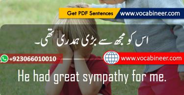 Easy English Sentences, Easy English sentences with Urdu, English phrases in Hindi Urdu, English Sentences, English Sentences for beginners.www.testdunya.com