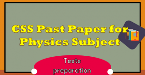 Past Papers Archives | TestDunya