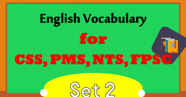 800 Most Important Words for CSS English Preparation PDF