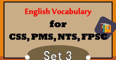 CSS Past Papers Vocabulary PDF | Exams Vocabulary PDFCSS Past Papers Vocabulary PDF | Exams Vocabulary PDF