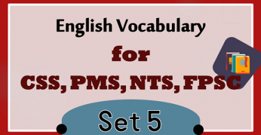 CSS Vocabulary With Meanings and Sentences PDF