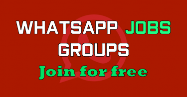 WhatsApp Group links for JOBS for Pakistani Job seekers.Join our WhatsApp Work opportunities Groups and get regular work up-dates and help in Job lookup