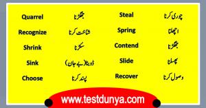English Vocabulary Archives | TestDunya