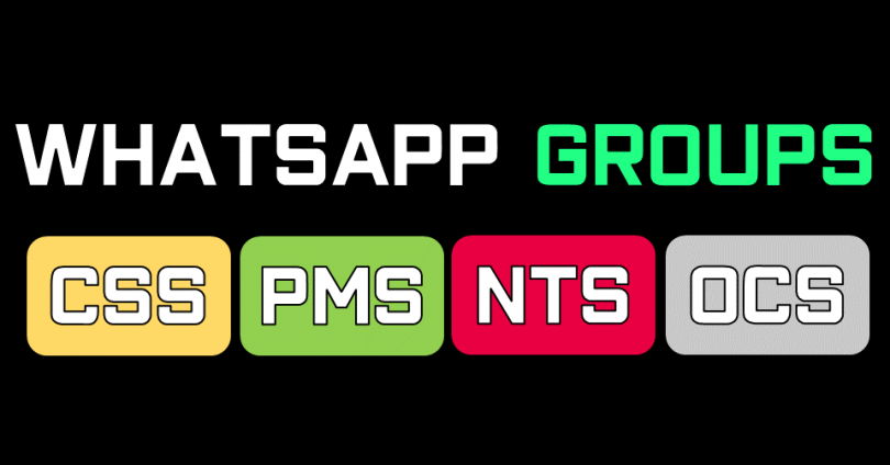 WhatsApp Government JOB Test Preparation Group links featrued