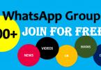 whatsapp groups links