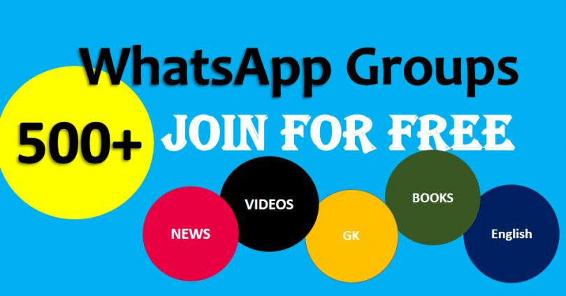 Join Whatsapp Groups for Free | 500 groups links | TestDunya