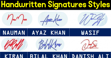 Handwritten Signature Styles and Ideas Generator Online Free, Make handwriting signature styles and designs of your name for free. We help you create signatures of your name so that you feel confident while embedding your signatures.
