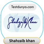 Shahzaib khan signature