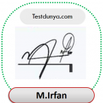 Irfan name signature