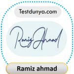 Ramiz signature