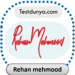 Rehan mehmood name signature