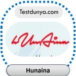 Hunaina name signature