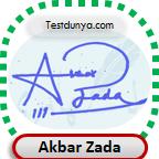 Akbar Zada Signature