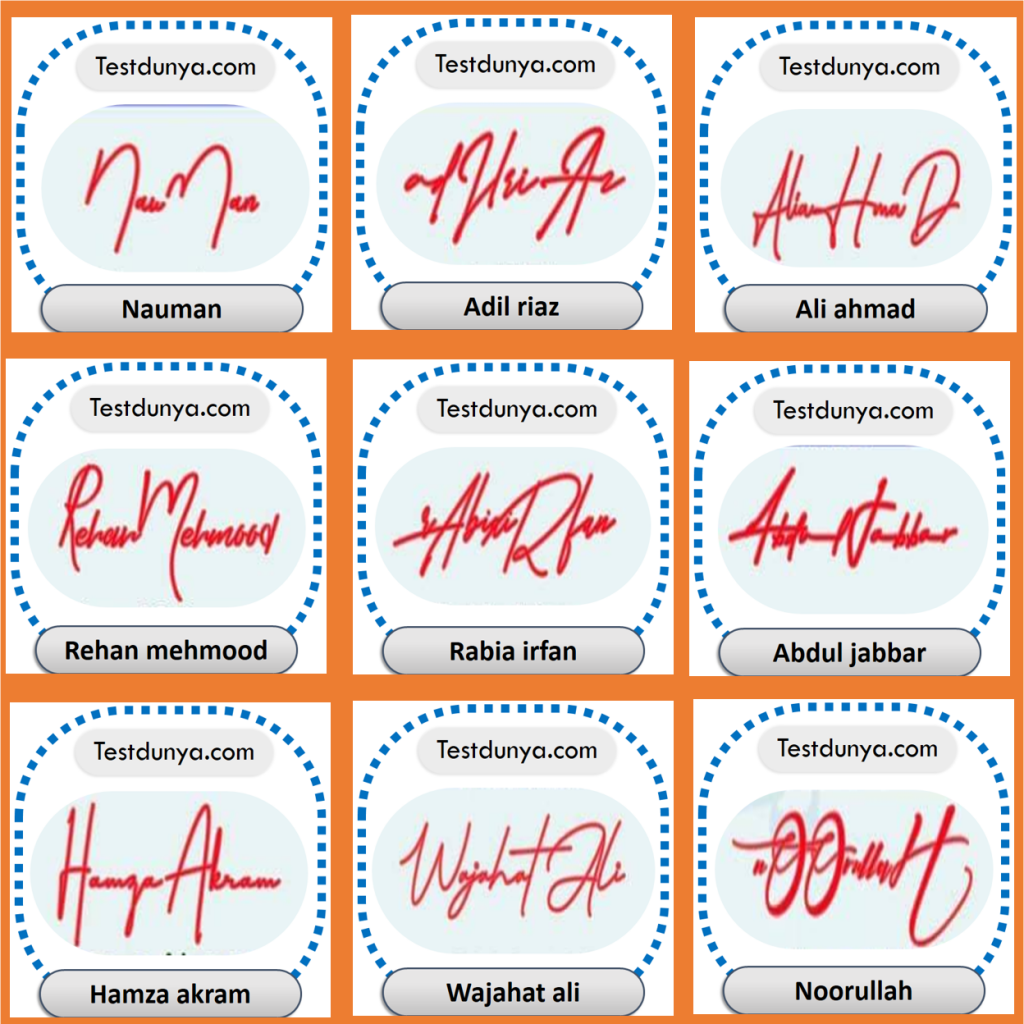 Handwritten Signature Styles and Ideas Generator for your name Online Free, Make handwriting signature styles and designs of your name for free